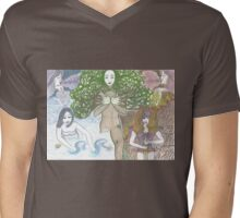 Mother Nature and her elements Mens V-Neck T-Shirt