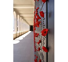 Wall Of Rememberance Photographic Print