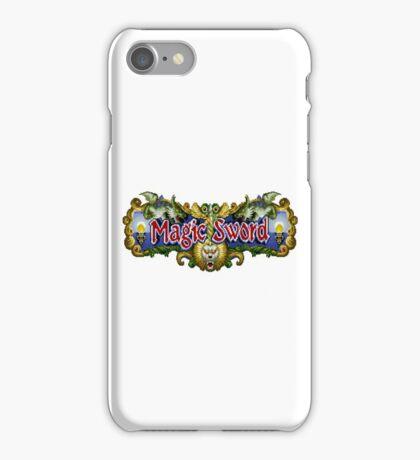 Magic Sword - SNES Title Screen iPhone Case/Skin