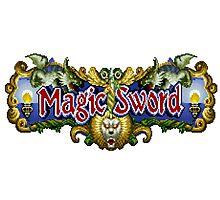 Magic Sword Photographic Print