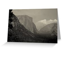 Yosemite's Valley View Greeting Card