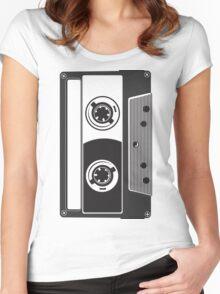 Big Cassette Women's Fitted Scoop T-Shirt