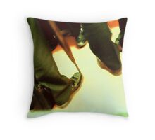 suits.... men in black Throw Pillow