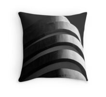 Concrete curves Throw Pillow