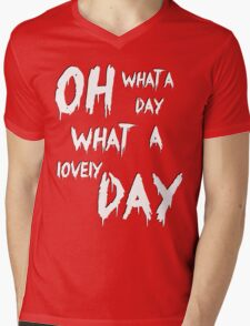 Oh, What a Lovely Day Mens V-Neck T-Shirt
