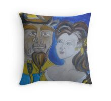 Beauty & The Beast Throw Pillow