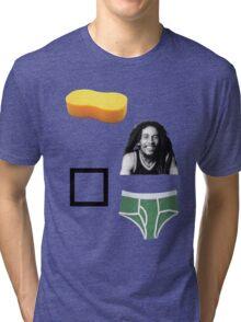 Sponge Bob Square Pants Tri-blend T-Shirt