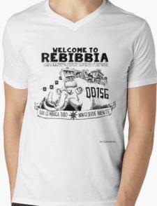 Rebibbia by Zerocalcare Mens V-Neck T-Shirt
