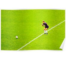 The Penalty: Rugby Johnny Wilkinson Poster