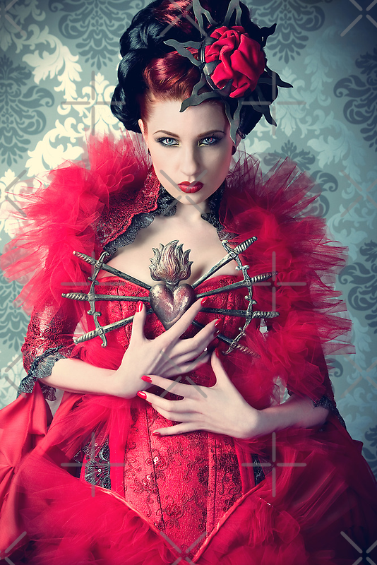 Red Queen by phantomorchid