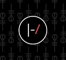 Twenty One Pilots - Clique Pattern by BarefootBison