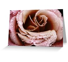 Flounces, Frills and Crystal Beads Greeting Card