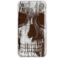 Ripped Up Skull iPhone Case/Skin