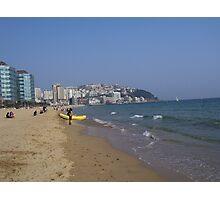 Haeundae Beach - Busan, Korea Photographic Print