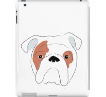 Illustrated Bulldog iPad Case/Skin