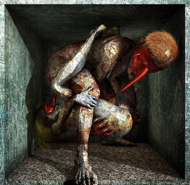 "Ecce Homo 81 - ""Dance of Fools"" by Polygonist"