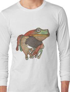 We all know Frogs go La-di-da-di-da! Long Sleeve T-Shirt
