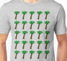 Palm Tree Pattern Unisex T-Shirt