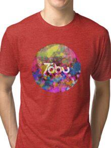 Tobu - Colorful logo Tri-blend T-Shirt