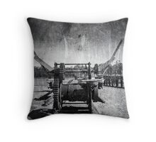 Winch out of Time Throw Pillow
