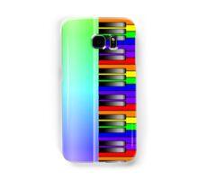 Rainbow Piano Keyboard Samsung Galaxy Case/Skin