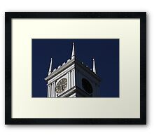 Time passes by on Martha's Vineyard, MA Framed Print