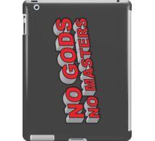 No Gods, No Masters iPad Case/Skin