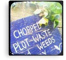 Compost Rules Metal Print