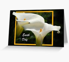 Earth Day - lilies Greeting Card