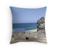 Mirror Ocean Throw Pillow