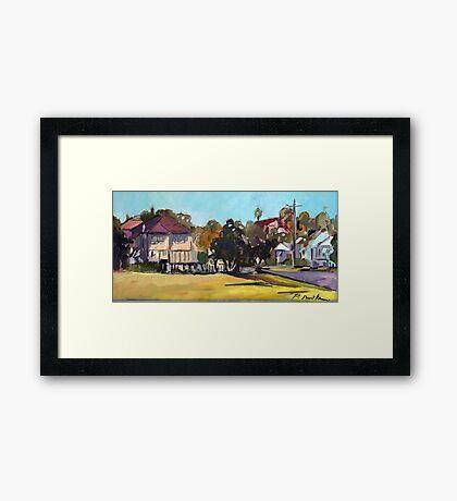 Windsor landscape Framed Print