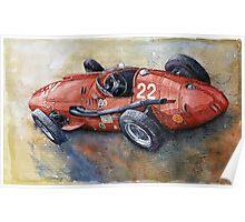 Maserati 250F 1957 Poster