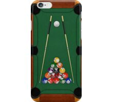Billiards iPhone Case/Skin