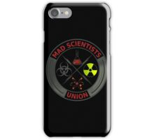 Mad Scientists Union iPhone Case/Skin