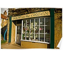 Shop on the Green Poster