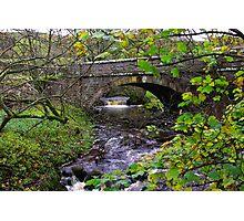 Below the Bridge Photographic Print