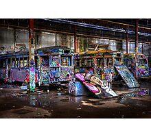 Sydney Trams 2 Photographic Print