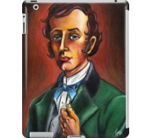Mr. William Gracey from Gracey Mannor. Drawn by Topher Adam iPad Case/Skin
