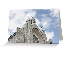 St. Joseph Roman Catholc Church, Vermont New England Greeting Card