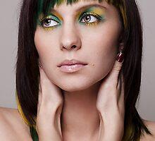 :: Green ribbons :: II by Aleksandra Navetnaya