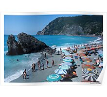 Postcard from Monterosso Poster