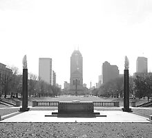 Indiana War Memorial by Brad Staggs
