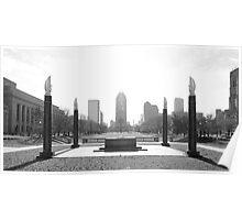 Indiana War Memorial Poster