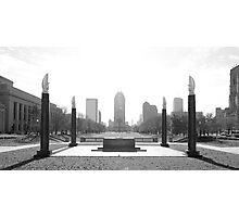 Indiana War Memorial Photographic Print