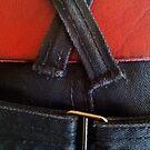 Jeans & red belt by jezkemp