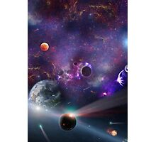 Planet Galaxy Photographic Print