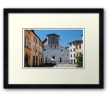 Postcard from Lucca Framed Print