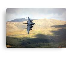 F15 over Wales Metal Print