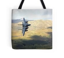 F15 over Wales Tote Bag