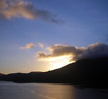 Sunrise (Marlborough Sounds, New Zealand) by jezkemp